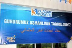 Osmanlıca Diye Arapça Pankart Astılar!