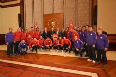 Galatasaray Cumhurbaşkanlığı Sarayı'nda