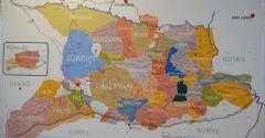 Türkiye'nin İlk Aşiretler Haritası Yayımlandı