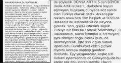 Tülay Babuşçu: Film 2023'te Vizyona Girecek