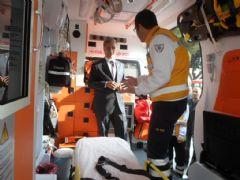 Manisa'ya 11 Yeni Ambulans Geliyor!