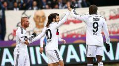 Beşiktaş Mersin İdman Yurdu'nu 2-1 Mağlup Etti