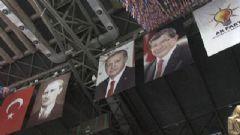 Ak Parti Kongresinde Erdoğan'ın Posteri Asıldı, Sesinden Şiir Dinletildi