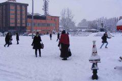 Ankara'da Okullar Tatil Edildi 11.02.2015