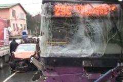 İstanbul Sarıyer'de Halk Otobüsü Kaza Yaptı.