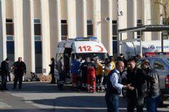 Ankara'da Rulman Fabrikasında Yangın