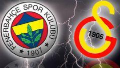 Fenerbahçe Galatasaray Derbisinde İlk 11'ler Belli Oldu