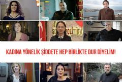 Kadına Yönelik Şiddete 'Dur' Dediler