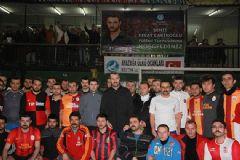 Fırat Çakıroğlu ve Özgecan İçin Futbol Turnuvası