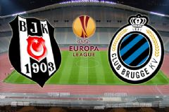 Beşiktaş-Club Brugge Karşılaşması İlk 11'leri