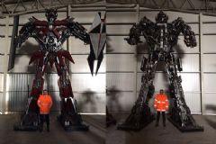 Ankara Park Projesine Transformers Otorobatları Dahil Edildi