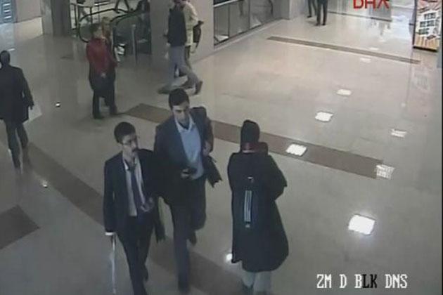 Savcı Kiraz'ı Şehit Eden Terörist Çağlayan Adliyesi'ne Böyle Girdi