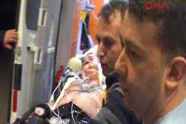 Fenerbahçe Otobüsüne Saldırı Görüntüleri