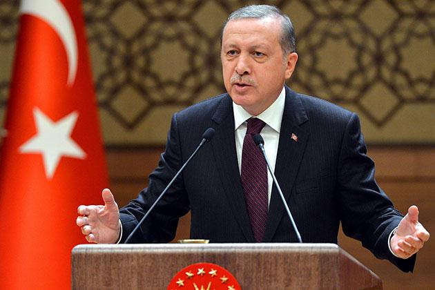 Cumhurbaşkanı Erdoğan: Gezidekilere Eylemci Diyen ABD Baltimore'dakilere Anarşist Diyor