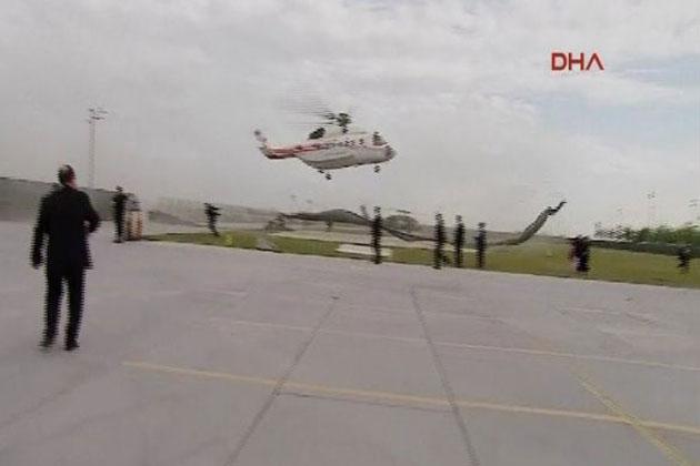 Cumhurbaşkanı Erdoğan'ı Taşıyan Helikopter Korkuttu - İZLE