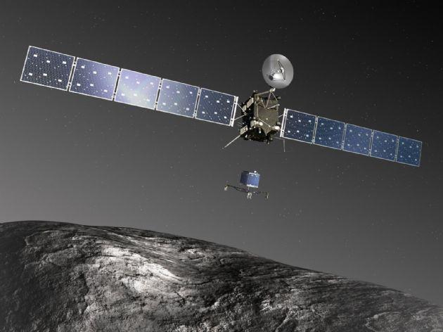 Kuyruklu Yıldıza İnen Uzay Aracı Philae Uyandı