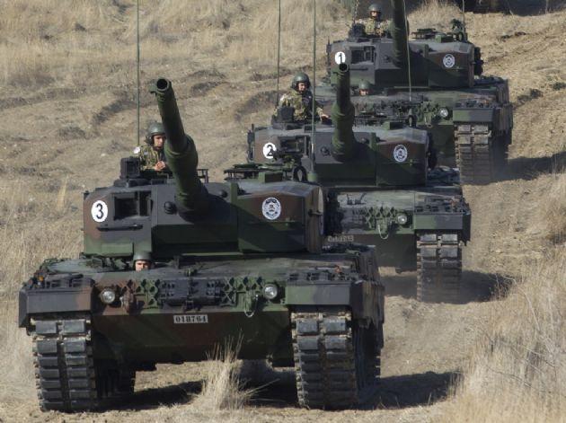 TSK O Tanklarla Suriye'ye Girebilir mi?