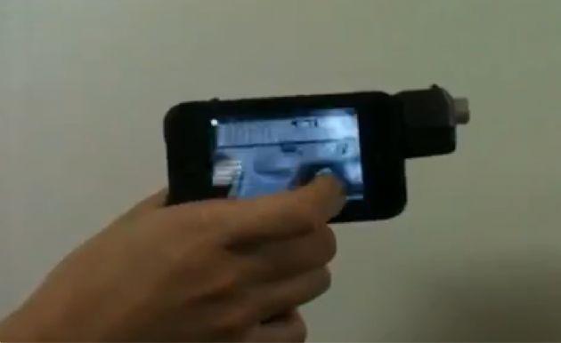 iPhone'dan Silah Yaptılar