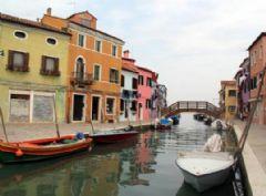 İtalya'nın En Renkli Adası Burano