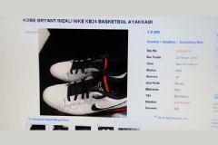 Kobe Braynt İmzalı Ayakkabıyı Satışa Çıkardı