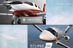 EA Grubunun ortak olduğu Eclipse ve Kestrel, ONE Aviation'ı Kuruyor