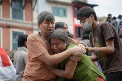 Türk Turist Nepal'deki Depremi Anlattı