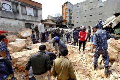 Türk Vatandaşı Nepal'deki Depremi Kaydetti