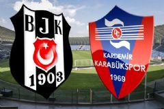 Beşiktaş - Kardemir Karabükspor Maçı İlk 11'leri