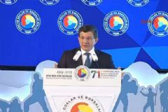 Davutoğlu  TOBB Genel Kurulunda Konuştu