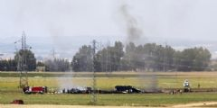 İspanya'da Düşen Uçak Türkiye İçin İmal Edilmiş