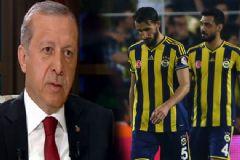 Erdoğan'dan Bursaspor Galibiyeti Yorumu