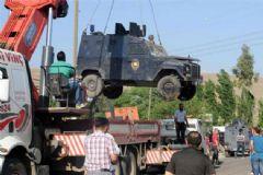 Cizre'de Zırhlı Araç Kazası: 4 Polis Yaralı