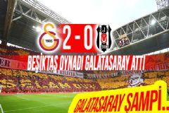 Galatasaray Beşiktaş'ı 2-0 Mağlup Etti