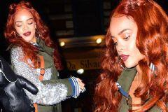 Rihanna Yine Saç Rengini Değiştirdi