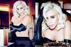 Kim Kardashian'dan Marilyn Monroe Pozu