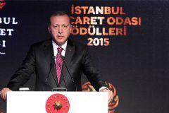 Cumhurbaşkanı Erdoğan, İstanbul Ticaret Odası Ödül Törenine Katıldı
