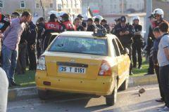 Erzurum'da Parti İşareti Gerginliği