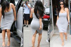 Kim Kardashian Hamilelik Alışverişinde