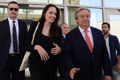Angeline Jolie ve Antonio Guterres Mardin Valiliği'nde