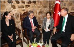 Cumhurbaşkanı Erdoğan Angelina Jolie İle Görüştü