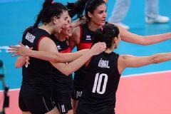 A Milli Kadın Voleybol Takımımız Çeyrek Finalde