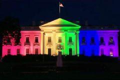 Beyaz Saray LGBT'nin Renklerine Büründü