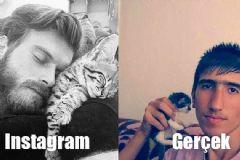 Instagram vs. Gerçek Hayat