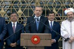 Erdoğan ''Beştepe Millet Camii''ni açtı