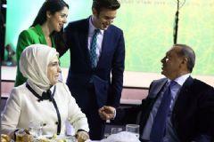 Ceceli ve Eşi Cumhurbaşkanı Erdoğan ile Sohbet Etti