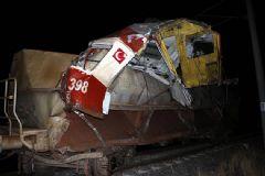 Sivas'ta Yük Treni Kazası: 1 Ölü