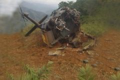 Helikopter Mayına Bastı