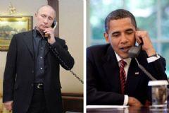 Putin İle Obama'nın Telefon Görüşmesi Değerlendirildi