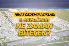 Nihat Özdemir'den 3. Havalimanı Açıklaması