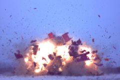 Tankın Vurulma Anı Drone Tarafından Görüntülendi
